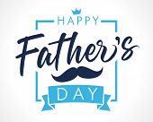 Happy Fathers Day Lettering Banner. Fathers Day Vector Elegant Calligraphy Background. Dad My King I poster