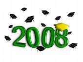 Graduation Class Of 2008 - Green