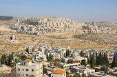 View of Har Homa (near Jerusalem)