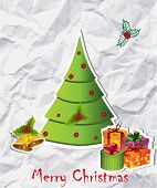 illustration of christmas tree