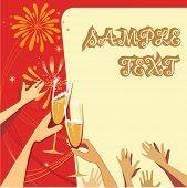 celebratory illustration