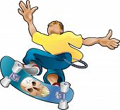 Teen Youth Cliques Skater