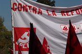 Detail of some banners 9