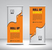Roll Up Banner Template Design-76 poster