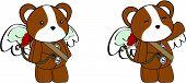 hamster angel cartoon