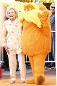 LOS ANGELES, CA - FEB 19: Betty White at the 'Dr. Suess' The Lorax' premiere at Universal Studios Ho