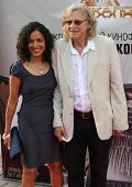 Directed  Roger Christian and his wife Lina, on the red carpet Film Festival
