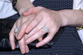 A Caucasian Woman's Hands