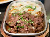Yakiniku Beef Barbecue Japanese Food