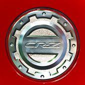 Honda Cr-z's cobertura da tampa de gasolina