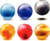 Metallic - Chrome - Glass Spheres