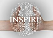 foto of mentoring  - Inspire cloud concept with a inspire background - JPG