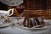 Mini Pound Cake - Chocolate Hazelnut, Tea, Lace, Liquor
