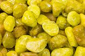 Yellow semiprecious stones