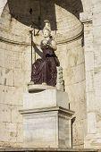 Minerva Statue In Rome, Italy