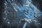 image of hack  - Spy Satellite Digital Bird Eye View  - JPG
