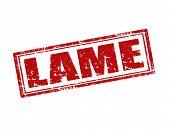 Lame-stamp