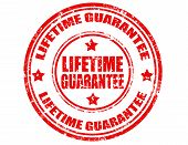 Lifetime Guarantee-stamp