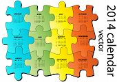 2014 Puzzle Calendar
