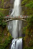 pic of arch foot  - Multnomah Falls Oregon U - JPG