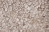 picture of drought  - Cracked Ground Background - JPG
