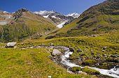 Austrian Alps In Kaunertal Tirol