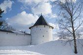 Tower Of Pechorsky Monastery
