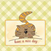 Kitty Wishes You A Nice Day poster