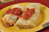 Beef And Cheese Chimichanga