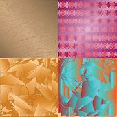 A Set Of Abstract Textures