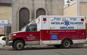Hatzolah volunteer ambulance in Brooklyn, New York
