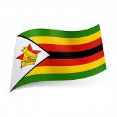 State flag of Zimbabwe