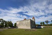Kuressaare Castle in Saaremaa island, western Estonia