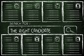 Search For The Perfect Candidate, Cv Database