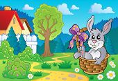 Easter bunny topic image 4 - eps10 vector illustration.