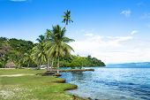 Remote Kioa Island in Fiji is a polynesian community that welcomes tourists and summer travelers fro