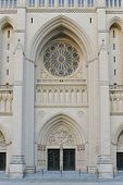 National Cathedral main gate, Washington DC United States