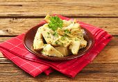 picture of artichoke hearts  - marinated artichoke hearts - JPG
