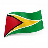 State flag of Guyana