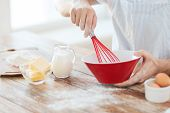 stock photo of margarine  - cooking and home concept  - JPG