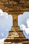Aqueduct In Segovia, Castilla Y Leon, Spain.