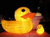 Chinese duck lanterns