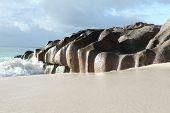 Seychelles Granite formations