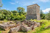image of albania  - Old Venetian tower in Butrint  - JPG