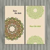 Circle Lace Hand-drawn Ornament Card