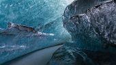 Glacial undercut