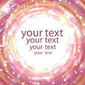 Abstract Shimmering Background In Pink Colors With Place For Your Text