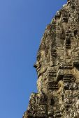 The Bayon Face, Temple Of Angkor Thom