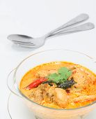 Curry Chicken With Bamboo Shoots, Thai Food