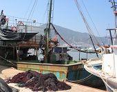 Turkey fishing ships